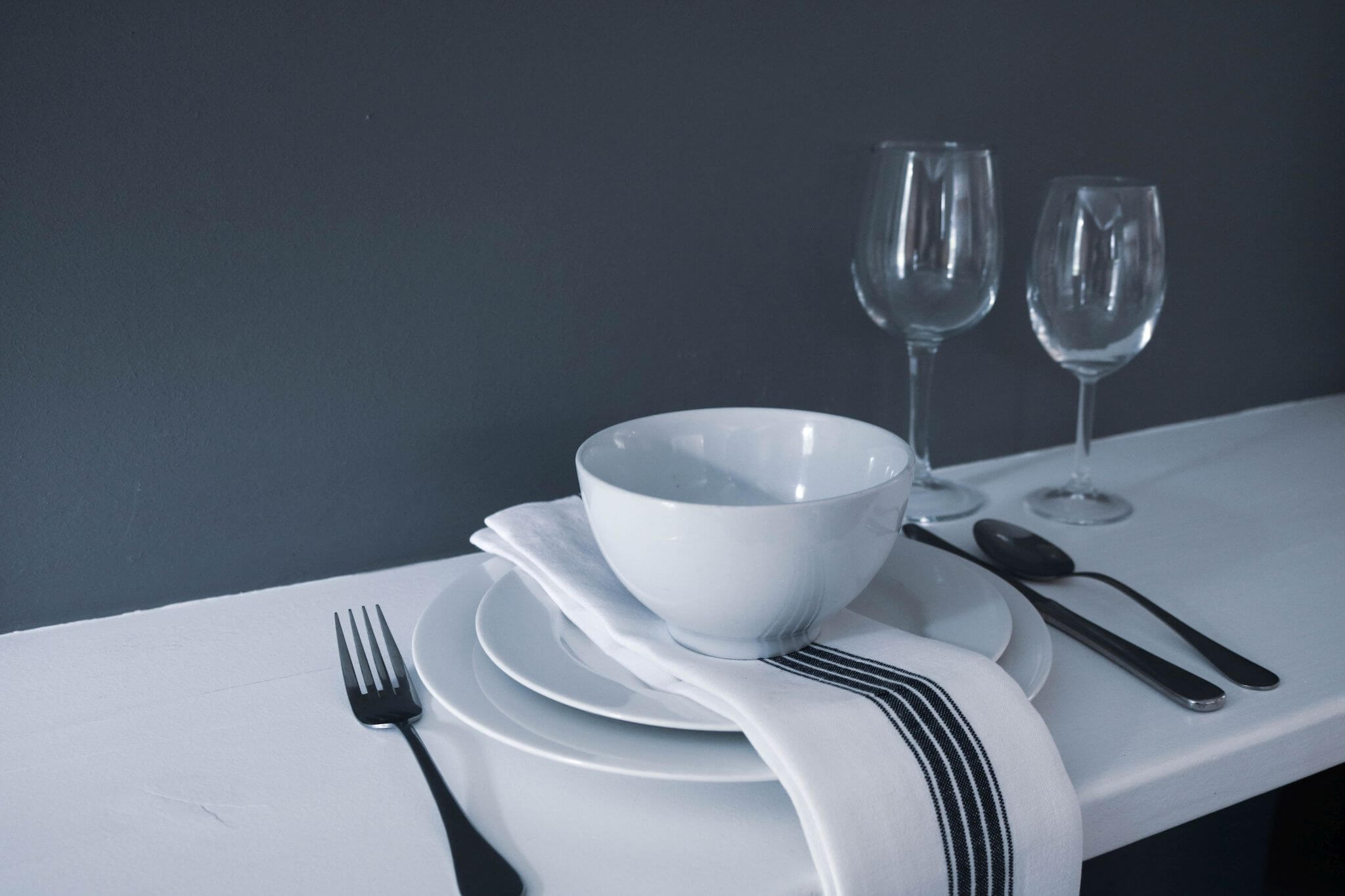 Fork and Sheet - Kitchen, Table Setting